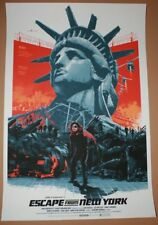 Escape From New York Gabz Movie Poster Print Art 2014