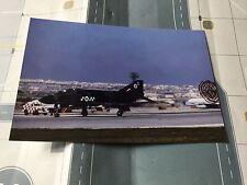 RAF Phantom Fighter landing at MALTA  - 6 x 4 Print