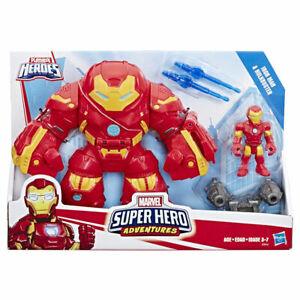 Playskool Heroes - Marvel Super Hero Adventures Iron Man and Hulkbuster