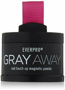 Everpro Gray Away Root Touch Up Magnetic Powder LIGHTEST BROWN/MED BLONDE *READ*