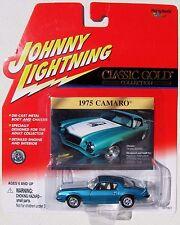 JOHNNY LIGHTNING R9 CLASSIC GOLD COLLECTION 1975 CUSTOM CAMARO