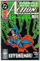 ACTION COMICS #599, NM, Superman, Metal Men, John Byrne,1938, Karma Baggers