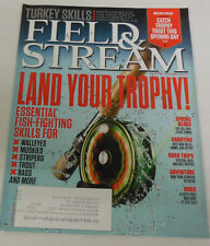 Field & Stream Magazine Land Your Trophy April 2013 071714R