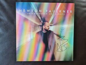 Newton Faulkner - Interference Of Light - Multicolour Vinyl LP - Signed Edition