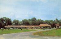 Cartersville Georgia 1950s Postcard Imperial Lodge Roadside Motel