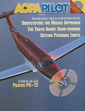 AOPA Pilot Magazine April 1998 (Pilatus PC-12, Scud Running,Pitts S-2C)