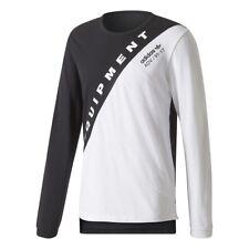 NEW Adidas Equipment EQT Burnside ADV 91-17 Men's Shirt Black White BQ2096 BOOST