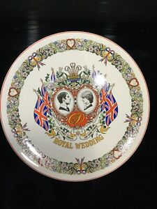 """WEDGWOOD"" Wedding of Charles & Diana Commemorative Plate *Excellent Condition*"