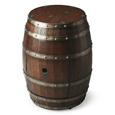 TABLES - MENDOCINO WINE BARREL TABLE - STORAGE TABLE - FREE SHIPPING*