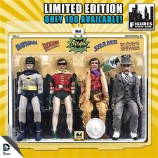 BATMAN 1966 TV SERIES 3 ; 4 PACK 100 PIECES MAD HATTER ,SHAME BATMAN ROBIN  MOSC