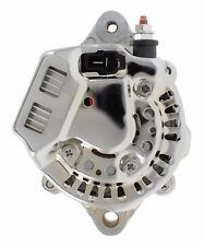 New 12 Volt CHROME Mini Alternator for Race Cars Denso 70 Amp 1 Wire Hookup