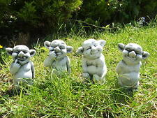 LATEX MOULD MOULDS MOLD.     SET OF 4 X CUTE GARGOYLES