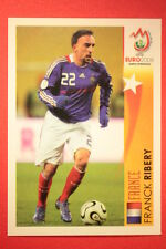 Panini EURO 2008 N. 502 RIBERY STAR DELL'EUROPEO  NEW With BLACK BACK TOPMINT