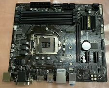 Gigabyte GA-B250M-DS3H Motherboard with Heatsink / fan - Tested