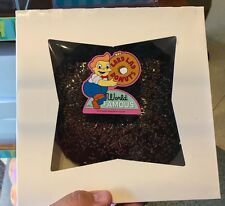 Universal Studios Exclusive The Simpsons Large Chocolate Donut Pillow Plush New