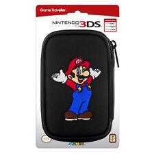 Nintendo 3DS Mario Bros Tasche Schwarz DS Lite New 3DS DSi Super Mario NEU