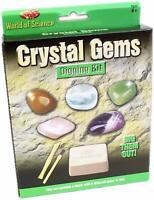 Crystal Gems Digging Kit Excavation Set Dig Gemstones Kids Educational Gift 9518