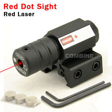 Chasse Compact tactique 650nm 1mW rouge Laser Dot Sight 20mm/11mm rail monté