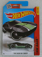 BRAND NEW HOT WHEELS FORD SHELBY GR-1 CONCEPT HW RACE LONG CARD 178/250 RARE