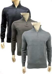 Brave Soul Jumper - Grey / Brown - Sizes Small or Medium