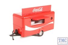 76TR015CC Oxford Diecast 1:76 Scale OO Gauge Mobile Trailer Coca Cola