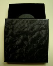 *Buy Here! (1) Black Decor Paper Box w/I-40mm At Hldr+Red or White Rim+Extras!