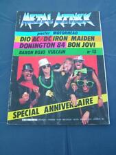 Metal Attack 13 1984 DIO BON JOVI BARON ROJO IRON MAIDEN VULCAIN
