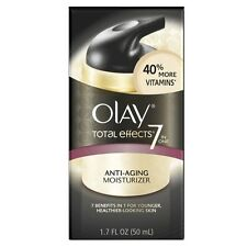 OLAY Total Effects 7-In-1 Anti-Aging Daily Moisturizer 1.70 oz (Pack of 2)