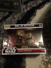 Funko POP! Star Wars ROTS Smuggler's Bounty Movie Moments Duel on Mustafar #222