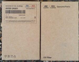 Local Stock. Genuine Hyundai i40 Diesel Service Kit -  Oil filter, Air filter