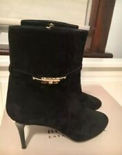 Burberry Suede Boots Size 40