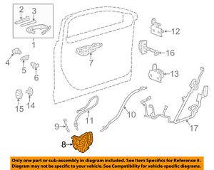 GM OEM-Door Lock Kit 13597528