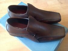 Mens Brown Slip On Stone Creek Size 6 Shoes RRP £32 New Shop Clearance (arkley2)