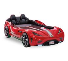Cilek GTS Autobett Kinderbett Champion Racer GTI 999 Vollausstattung mit LED