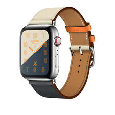 Apple Watch Series 4 Hermès Hermes 44mm Indigo/Craie/Orang Single Tour SHIP NOW