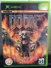 Doom 3 Resurrection Of Evil XBox Game - PAL, 18+ - EXCELLENT CONDITION