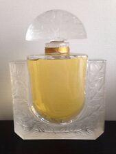 RARE Flacon de Parfum Lalique Chèvrefeuilles en Cristal GEANT 25 cm