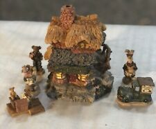Boyds Bearly Built Villages Ted E Bear Shop Boyds Town Style #19001
