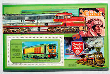 Trains, 1991 Unmounted Mint Stamps From Niger Transport Set, Railway Thematics .