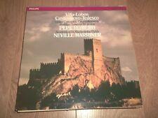 PHILIPS 416 357-1 : VILLA-LOBOS / PEPE ROMERO / NEVILLE MARRINER VINYL LP EX/EX