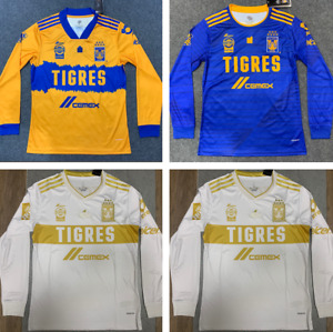 NEW 2021 Tigres UANL home/ away long soccer Jersey