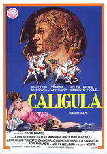 "Caligula Movie Poster Replica 13x19"" Photo Print"