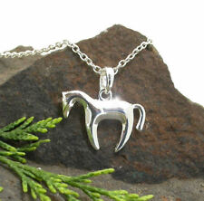Horse & Western Jewellery Jewelry Ladies Contemporary Horse Necklace Silver