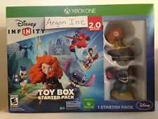 NEW Disney Infinity 2.0 Toy Box Starter Pack Xbox One Game Bundle *SEALED*