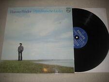 Hannes Wader - Plattdeutsche Lieder   Vinyl  LP