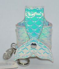 BATH & BODY WORKS MERMAID TAIL POUCH POCKETBAC HOLDER SLEEVE HAND SANITIZER CASE