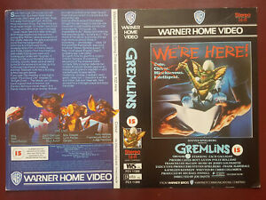 Gremlins - Warner Home Video - PRE-CERT - Promo Sample Video Sleeve/Cover #B9023
