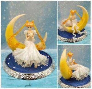 Anime Sailor Moon Princess Serenity Princess Luna Girl PVC Figure New No Box