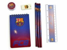 Official FC Barcelona FADE Starter 7 Piece Stationery Set Back To School Gift