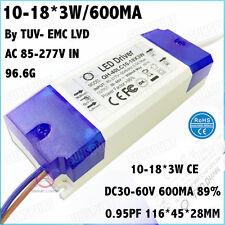 3PCS Box AC85-277V 40W By CE LED Driver 10-18x3W 600mA DC30-60V Constant Current